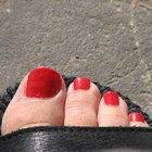 Formas bonitas para pintar uñas de los pies