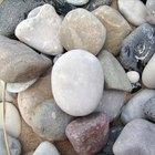 Pedras que absorvem água