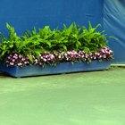 Cómo hacer jardineras de cemento para exteriores