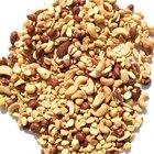 ¿Qué frutos secos son ricos en proteínas y bajos en grasas saturadas?