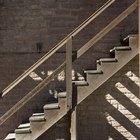 Como calcular o ângulo de uma escada exterior