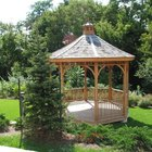 Types of Roof Covers for a Gazebo