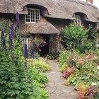¿Cómo puedes diseñar un pequeño jardín inglés?