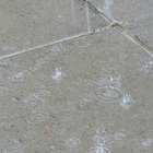 How to Repair Concrete That Has Been Rained On