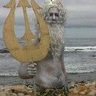 Cómo hacer un disfraz de Poseidón