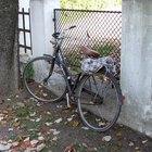 Cómo abrir la combinación del candado de una bicicleta