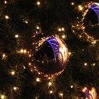 Ideas para decorar un árbol de Navidad negro