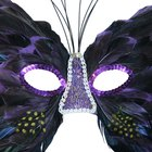 How to Make Masquerade Mask Pictures