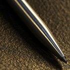 Como tornar tinta de caneta permanente