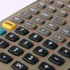 Como tirar uma calculadora Casio do modo de correção