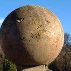Como fazer bolas de concreto
