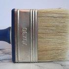 Cómo crear un acabado imitación madera sobre pintura blanca