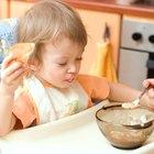 Ideias de café da manhã para bebês de 1 ano