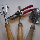 Nombres de las herramientas de jardinería
