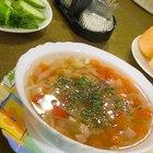 Cómo hacer sopa de pollo con ñoquis - Como la de Olive Garden