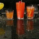 Tipos de vasos para bebidas alcohólicas