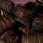 Cómo envolver chocolates caseros