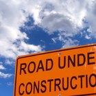 La fuente de materiales para construir una carretera