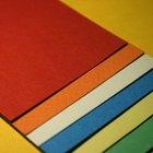Como imprimir a cor branca em papel colorido