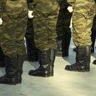 Definición militar de un veterano