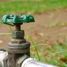 Como calcular o fluxo, o volume e a pressão da água