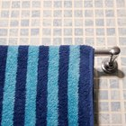 How to remove a wall-mounted towel rack