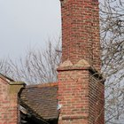 The parts and components of a brick chimney