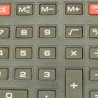 Cómo cargar el rollo de papel en una calculadora Canon PalmPrinter P1-DHV