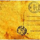 Como vender cartões postais antigos