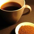 Cómo convertir los granos de café en polvo para café instantáneo