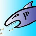 Como fazer barbatanas de tubarão em casa