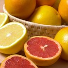 Nombres de ácidos en frutas, vegetales y productos lácteos