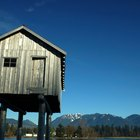 How do I put a shed on stilts?