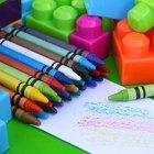 Actividades de arte para niños de 2 años