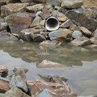 Como remover areia de canos de drenagem