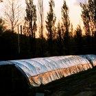 Cómo construir un invernadero túnel de plástico