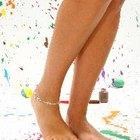 Etiqueta respecto a las mujeres y a las pulseras de tobillo