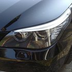 How to Adjust a BMW Five Series Headlight