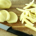 Cómo mantener crocantes las papas fritas caseras