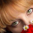 Qual a melhor cor de cabelo para quem tem olhos verdes?