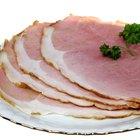 Las instrucciones para cocinar el jamón en rodajas Smithfield Spiral