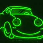 How to mix colors to get a neon green