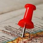 Como criar um mapa para por convites ou cartões de visita