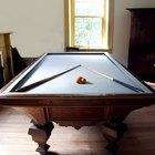 Qual é o tamanho de uma mesa de bilhar profissional?