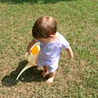 Actividades de juegos con agua para bebés y niños pequeños