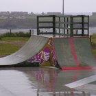 Como construir uma rampa de skate de concreto