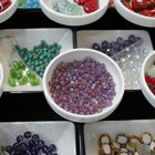 How to Create a Mosaic With Beads
