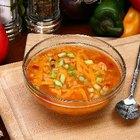 Qué servir con una sopa de tortilla con pollo