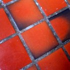 How to lay terracotta tile on cement steps