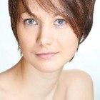 Peinados lindos para cabellos cortos para mujeres de mediana edad.